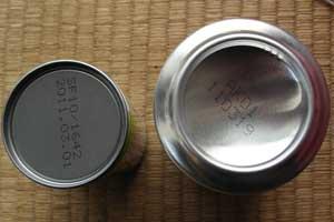 缶 違い 缶 スチール アルミ